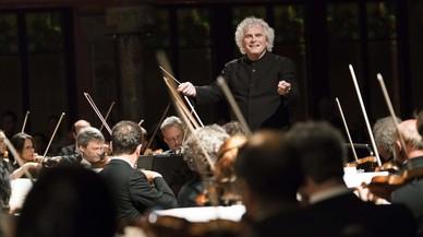 Apoteosis con Rattle y la Filarmónica de Berlín