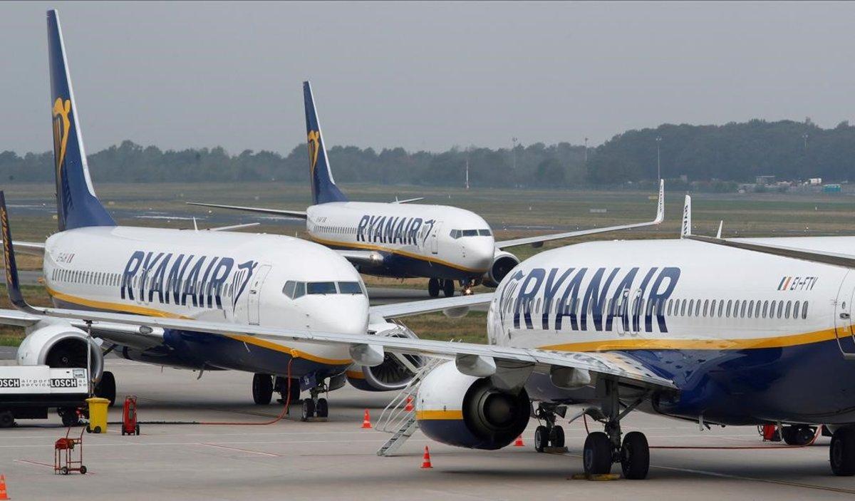 Les retallades de Ryanair a Girona no respecten els drets laborals