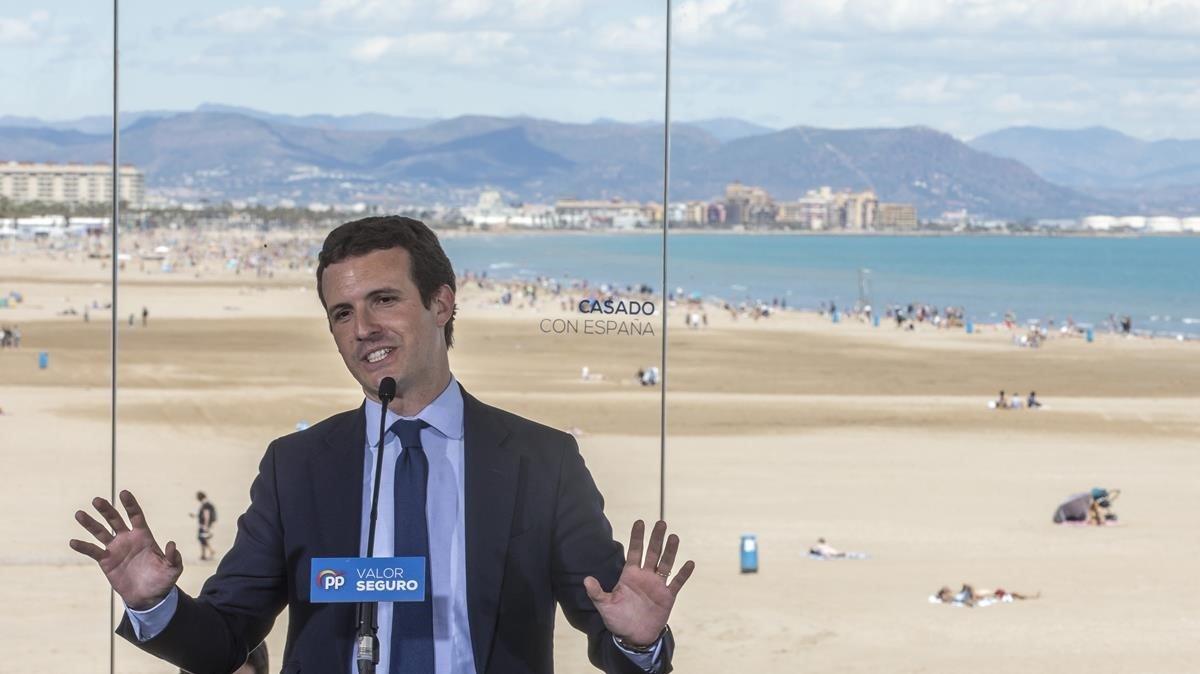 Pablo Casado, un líder impopular