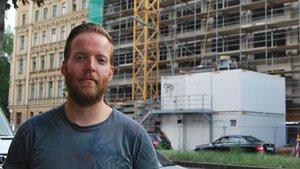 El activista en favor del derecho a la vivienda,Thomas McGath.