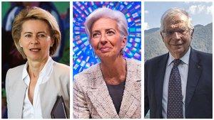 Dues dones pilotaran la UE i Borrell serà el cap de la diplomàcia