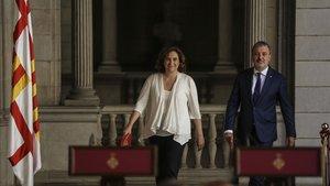 La continuïtat de Colau divideix els barcelonins