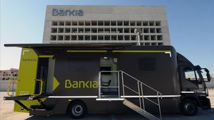Bankia atén 373 municipis amb els seus ofibusos