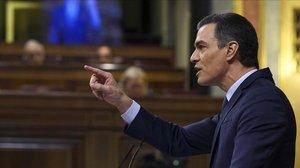 Sánchez apel·la a l'«esperança» contra la «coalició de l'apocalipsi»