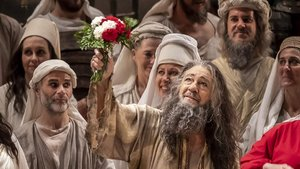 Plácido Domingo se despide del público tras su última actuación en València en la ópera Nabucco