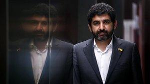 Chakir el Homrani, 'conseller' de Treball, Afers Socials i Famílies.