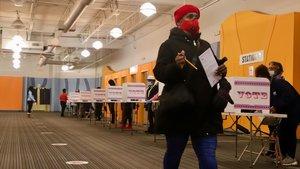El vot negre indignat decidirà la sort de Joe Biden
