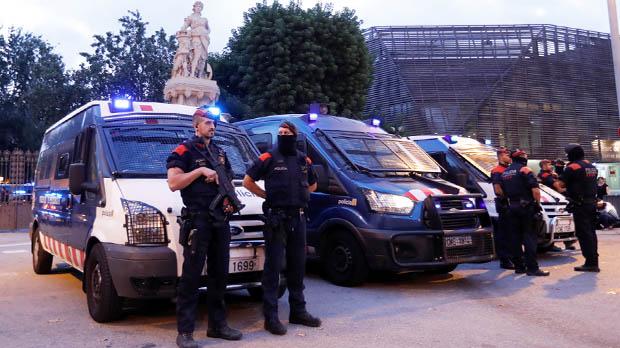 Excepcionals mesures de seguretat al voltant del Parlament