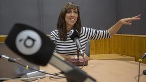 Jessica Crespo, presentadora y codirectora del magacin Al Ras.
