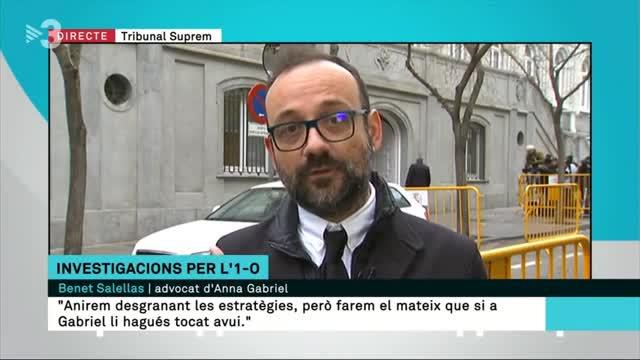 Benet Salellas en el programa Els Matins de TV3