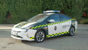 Toyota Prius de la Agrupación de Tráfico de la Guardia Civil