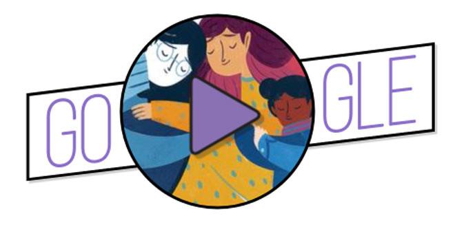 Día Internacional de la Mujer: doodle de Google