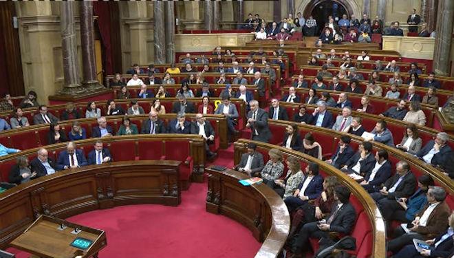 El Parlament recorrerà davant del Suprem la inhabilitació de Torra com a diputat