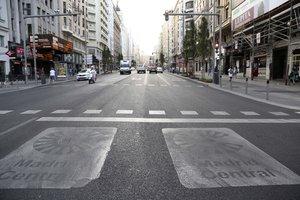 Madrid Central, la zona de bajas emisiones de la ciudad.