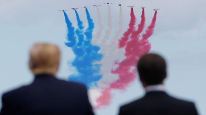 Macron fa dels actes de Normandia un al·legat a favor del multilateralisme