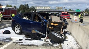 Accidente del Tesla Model X de Walter Huang el 23 de marzo de 2018.