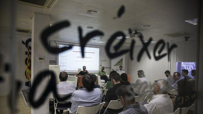 Acto en Accio sobre financiacion de startups