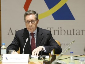 El director general de la Agencia Tributaria, Santiago Menéndez.