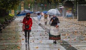 Clima frío y lluvioso en varias regiones de España.