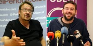 Xavier Domènech y Albano Dante Fachin.