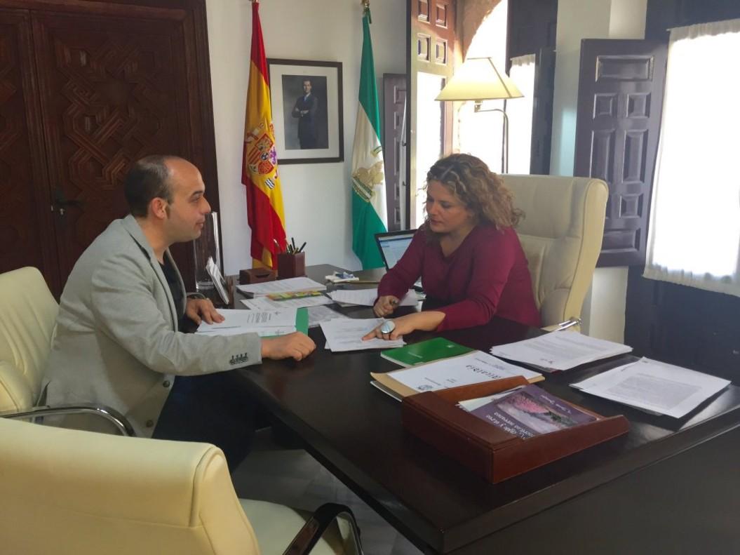 La alcaldesa de Ronda (Málaga)Teresa Valdenebro.
