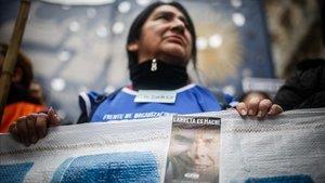 Las protestas ante la crisis económica en Argentina son cada día más frecuentes. La fotos es del paro general del pasado lunes.