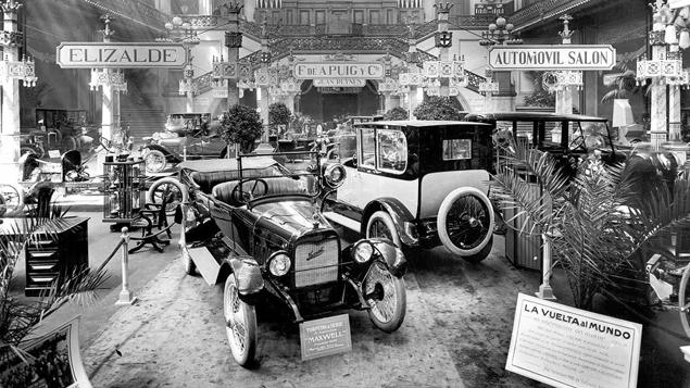Hoy se cumplen cien años del primer salón del automóvil de Barcelona