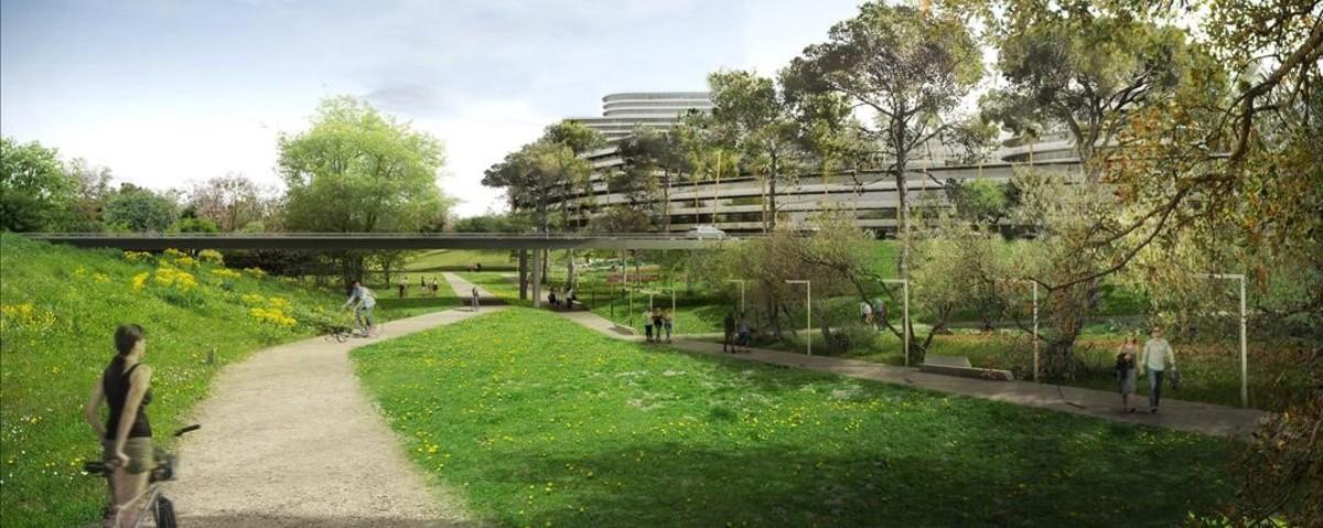 El nuevo proyecto rebaja la superfice construida de un millón de metros cuadrados a 750.000.