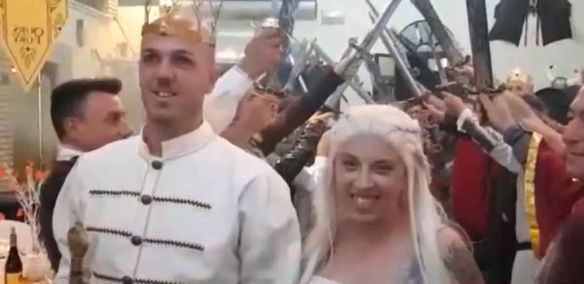 Una pareja andaluza transforma su boda en un capítulo de Juego de Tronos