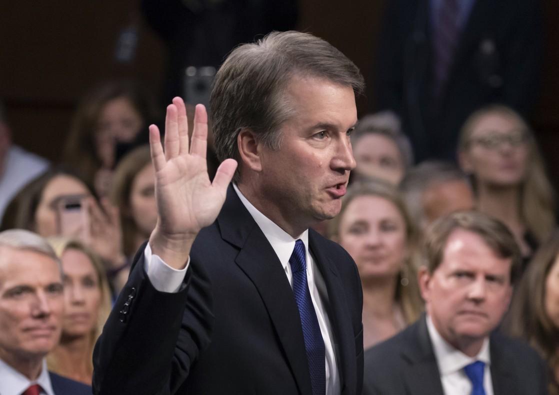Brett Kavanaugh fue el elegido por el presidente Donald Trump para una plaza a la Corte Suprema.