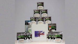Brexit Box, el lote de productos de platos liofilizados para paliar la posible escasez de alimentos.
