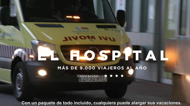 Campaña de sensibilización de la Dirección General de Tráfico para Semana Santa. El hospital.