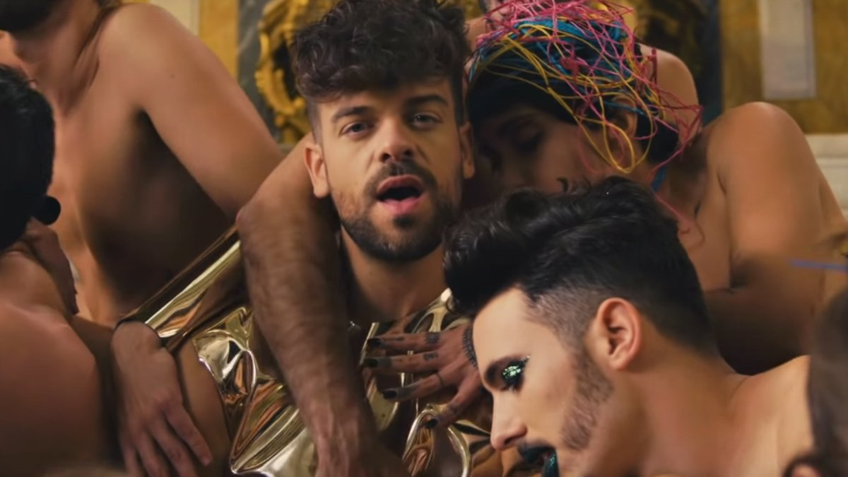 Operacion Triunfo 1 Video Porno De Un Concursante ricky merino presenta un vídeo de temática sexual para