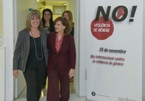 El Govern planeja exportar a altres municipis l''app' per a víctimes de violència de gènere de l'Hospitalet