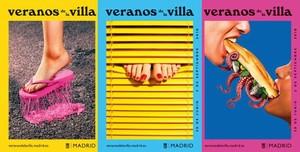 Cartel de la edición de 2018 de los Veranos de la Villa en Madrid.