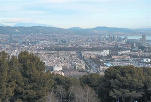 La ciudad mediterránea