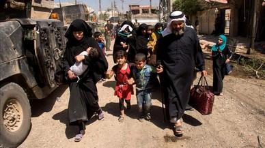 La ONU alerta del desplazamiento de 200.000 civiles en Mosul