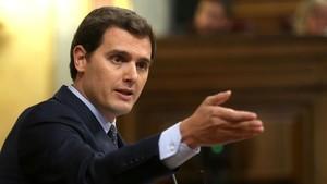 Rivera respon a Torra: «Recolzar la violència de comandos separatistes és feixista»
