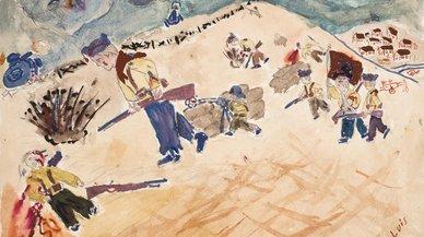 Los niños que dibujaron la guerra