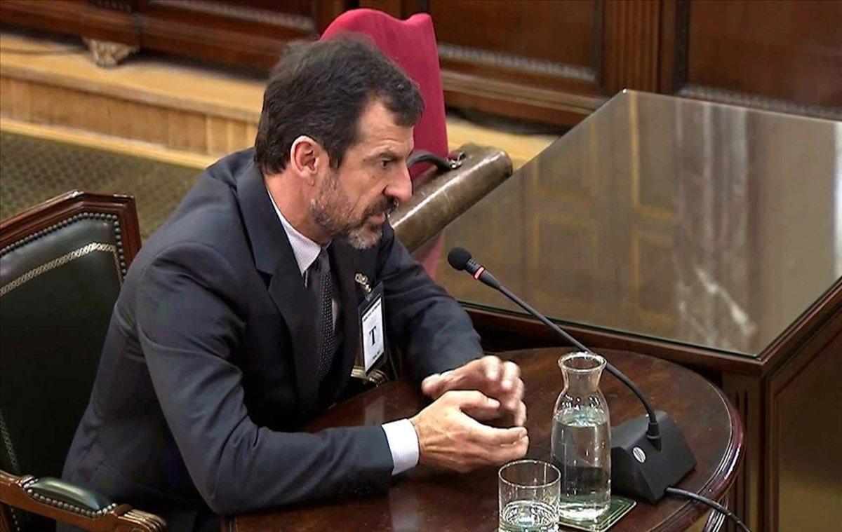 El comisario Ferran López declara en el Supremo.