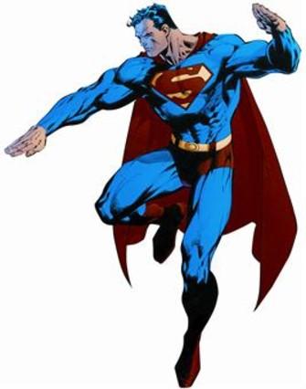 CON 75 AÑOS 3 Superman, dibujado por Jim Lee, en Por el mañana.