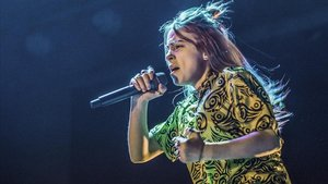 Billie Eilish, en su actuación en el Sant Jordi Club, en marzo del 2019.