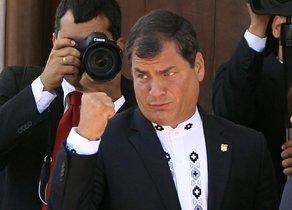 Correa aseguró que se trata de una persecución del presidente de Ecuador, Lenín Moreno.