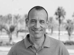 Daniel Borreguero lleva 7 años trabajando como taxista de Barcelona.