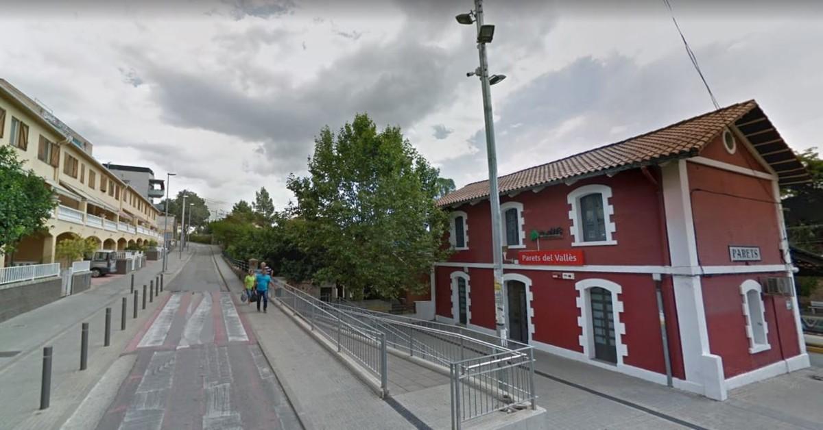 La Diputació de Barcelona elabora un plan para mejorar la accesibilidad en Parets