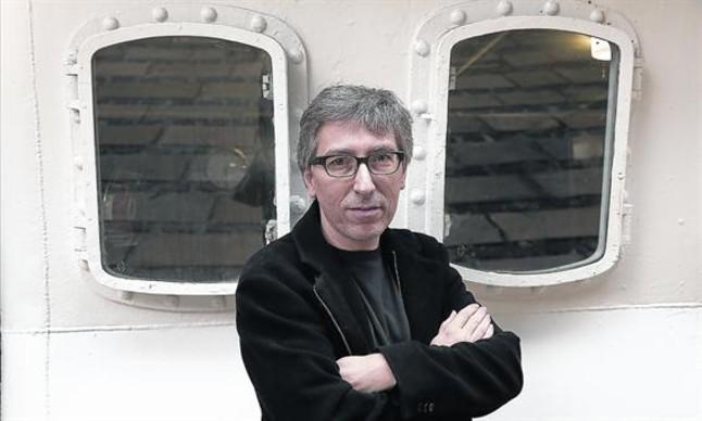El director y guionista David Trueba, ayer en Barcelona, tras arrasar en los premios Goya.