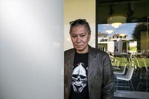 El director japonès Takashi Miike, fotografiat al Festival de Sitges.