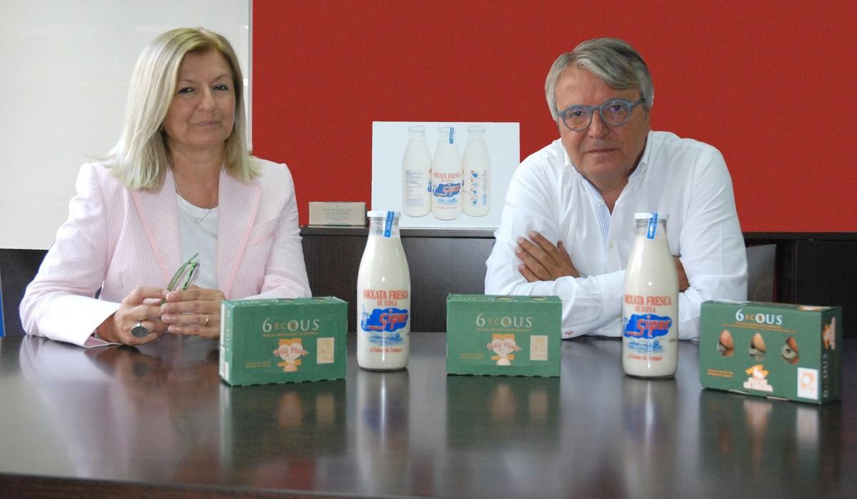 Dolors y Alfons Subirana, del grupo Petit Plaer, han recuperado Siper.
