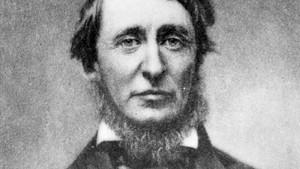 El ensayista y poeta Henry David Thoreau.