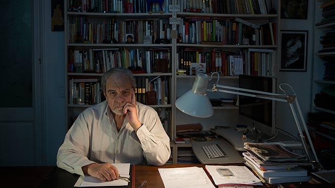 El escritor Juan Marsé habla con EL PERIÓDICO coincidiendo con la presentación de su novela Esa puta tan distinguida.